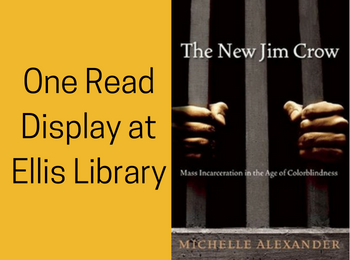 One Read Display at Ellis Library: The New Jim Crow