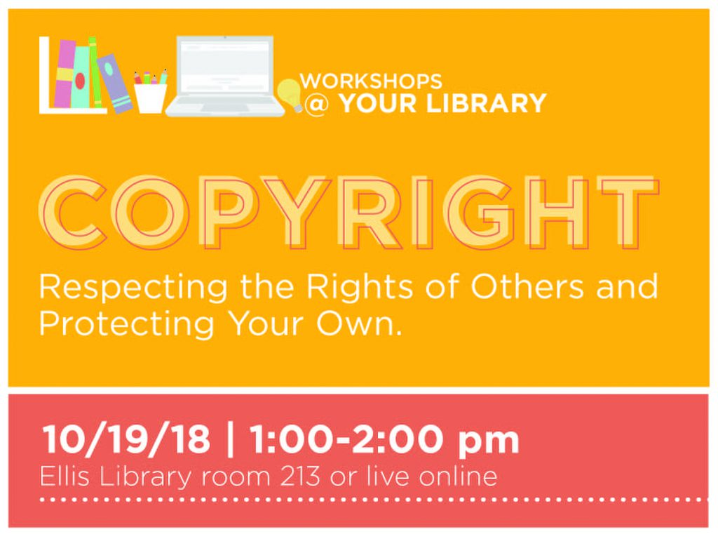 Workshops @ Your Library, Oct. 19