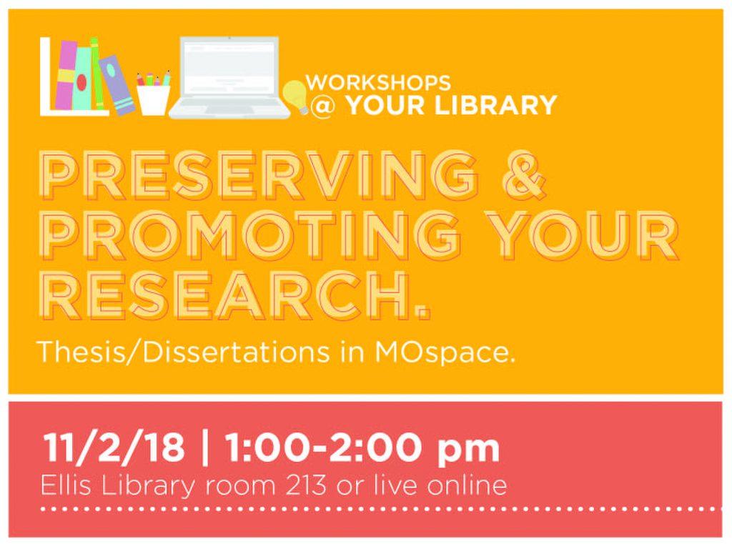 Workshops @ Your Library, Nov. 2