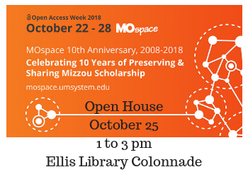 Celebrate Open Access Week and MOspace 10th Anniversary, Oct. 25