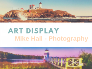 Mike Hall Photography on Display in Health Sciences Library