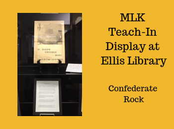 MLK Teach-In Exhibit at Ellis Library