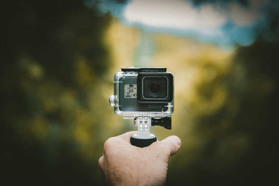 Lights, Camera, Action! GoPro Available at the Health Sciences Library