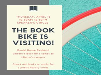 Columbia Public Library Book Bike
