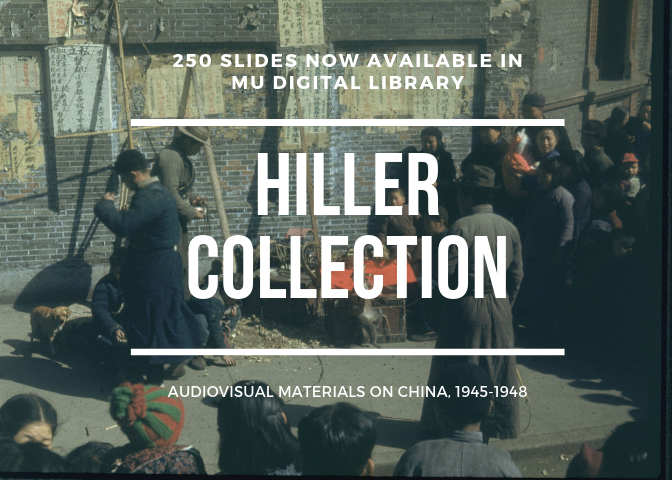 Digitized slides from Hiller Collection are now available in MU Digital Library