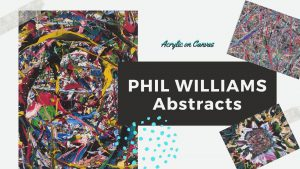 Phil Williams' Abstracts on Display at the Health Sciences Library