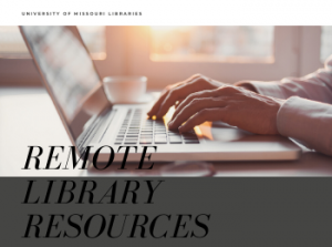 Remote Library Services Available