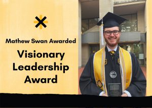 Mathew Swan Awarded the University of Missouri Libraries Visionary Leadership Award