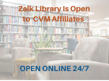 Zalk Library Is Open