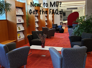 New to MU?  Check out the FAQs about the Journalism Library