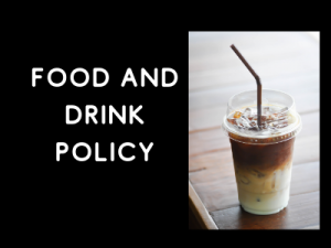 Change to food and drink policy