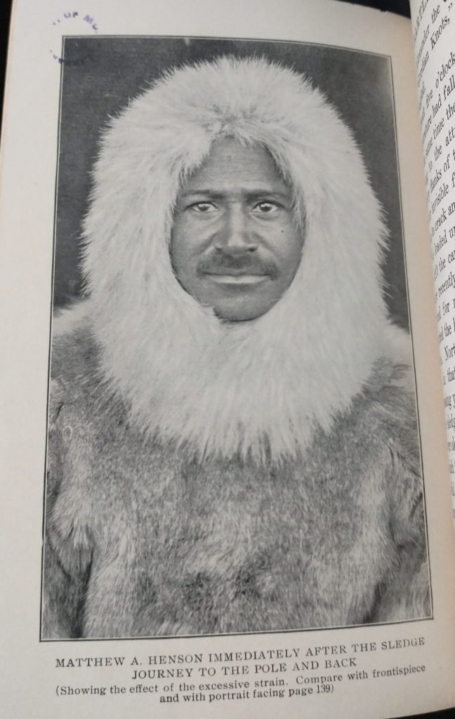 Matthew Henson, from the Leaders and Heroes exhibit