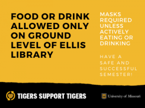 New Food and Drink Policy in Ellis Library
