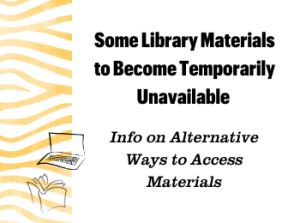 Some Offsite Materials Will Become Unavailable on Jan. 25