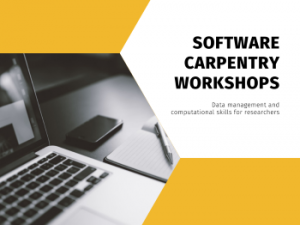 Upcoming Workshops: Software Carpentry and Data Carpentry