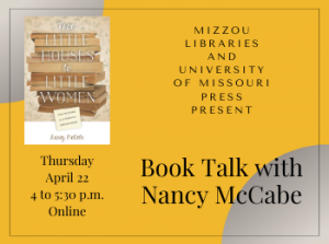 Book Talk with Nancy McCabe: From Little Houses to Little Women