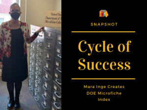 Cycle of Success: Inge Creates DOE Index