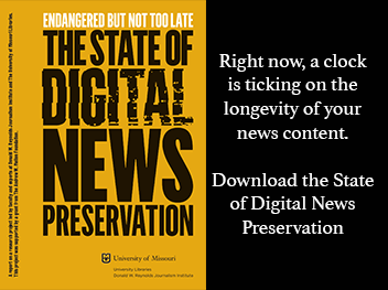 Without Intent to Preserve, Digital News as Public Record Will Disappear