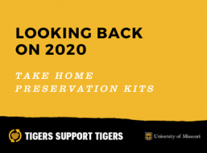 Take Home Preservation Kits