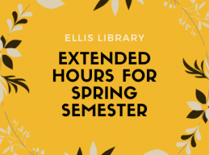 Ellis Library Open Extended Hours for Finals Study