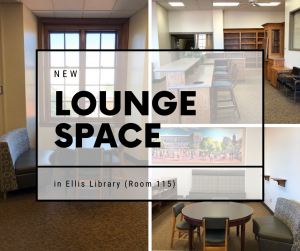 New Lounge Space in Ellis Library