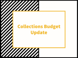 FY21 Collections Budget Update