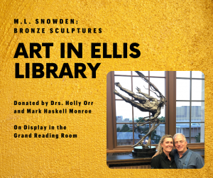 Gift of Art Provides Inspiration and Beauty to Grand Reading Room at Ellis Library