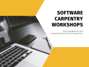 Workshops @ Your Library – Software Carpentry