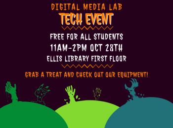 Digital Media Lab hands-on demo event in Ellis