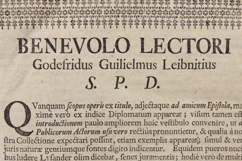 Codex juris gentium diplomaticus