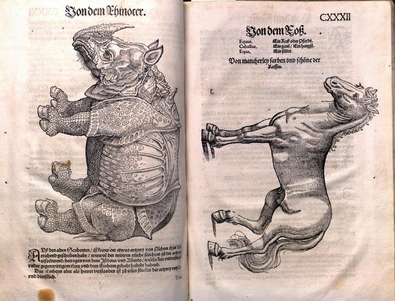 Historia animalium. Liber 1-2. German