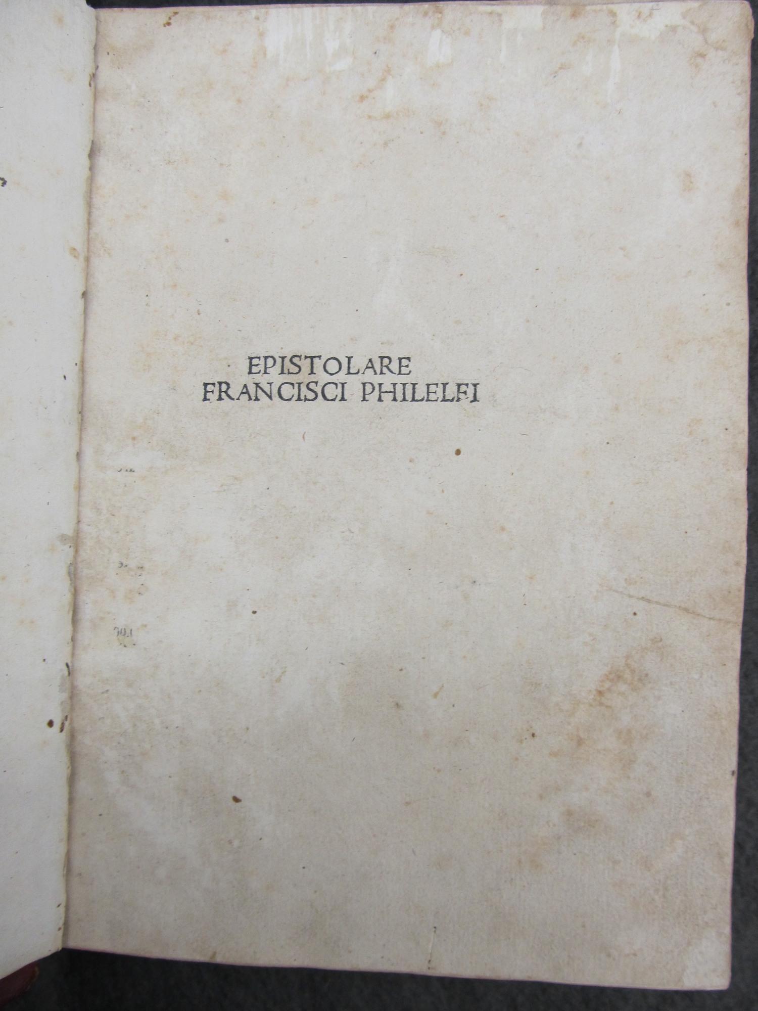 Epistolae. 1496