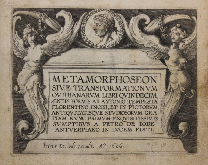 Metamorphoseon : sive transformationum ovidianarum libri quindecim, aeneis formis