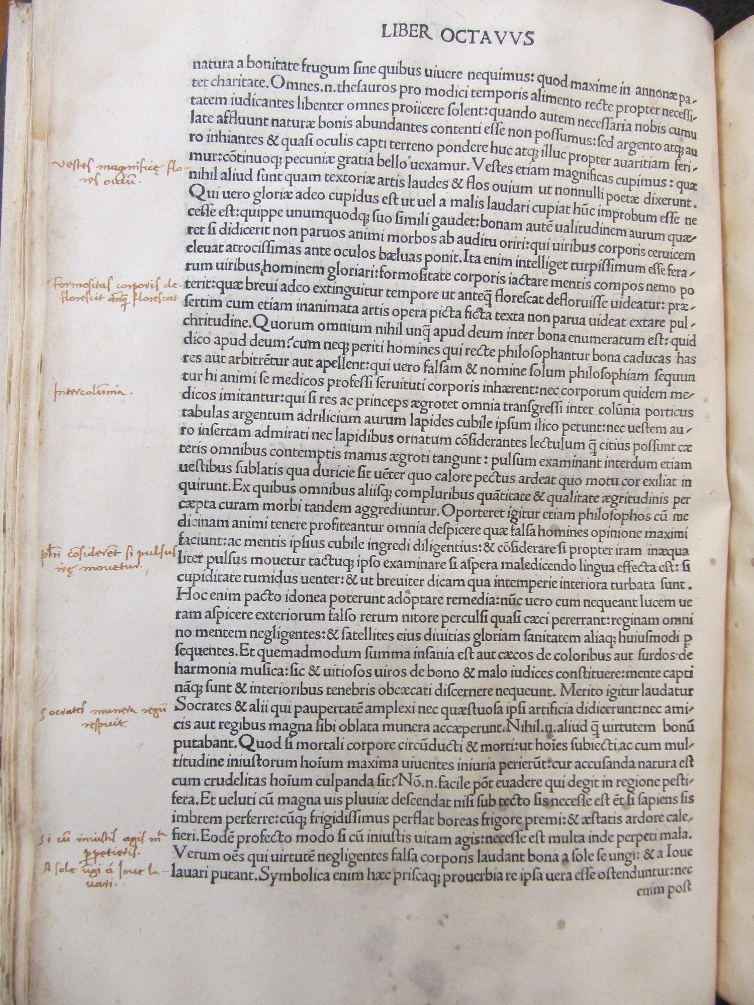 De evangelica praeparatione. Latin. 1497