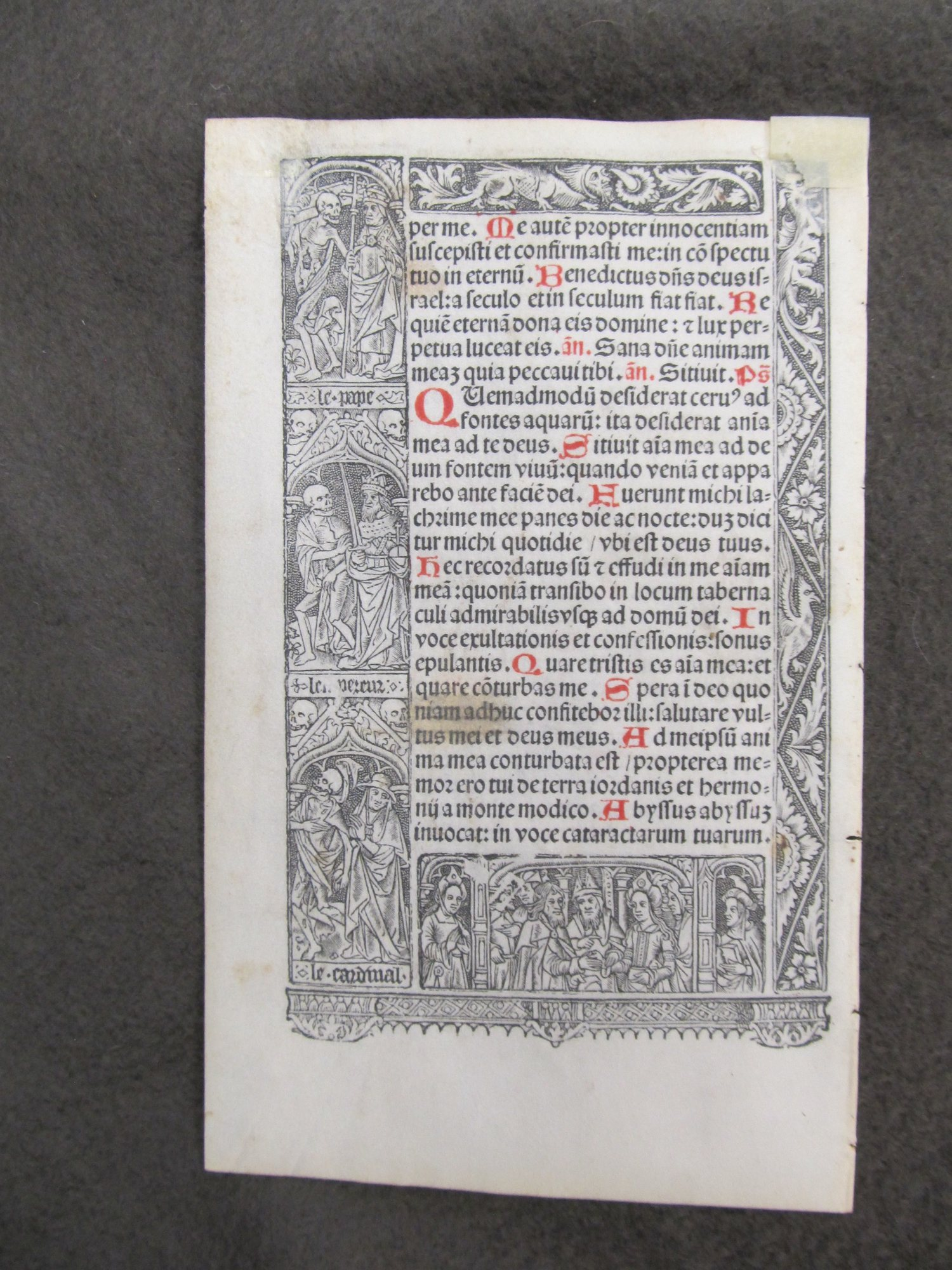 Book of hours. Selections