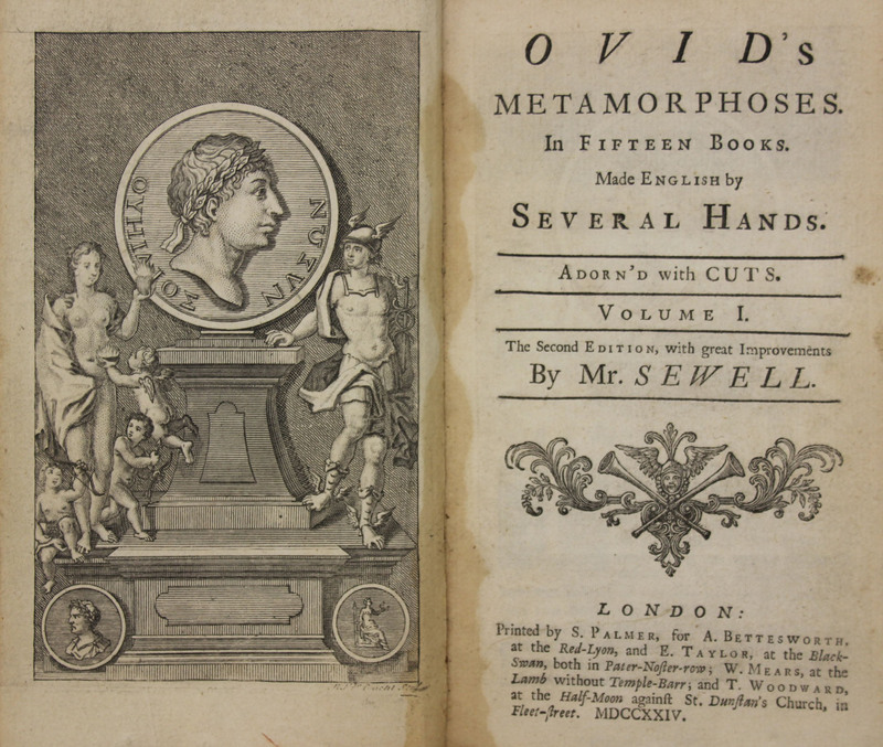 Ovid's Metamorphoses : in fifteen books