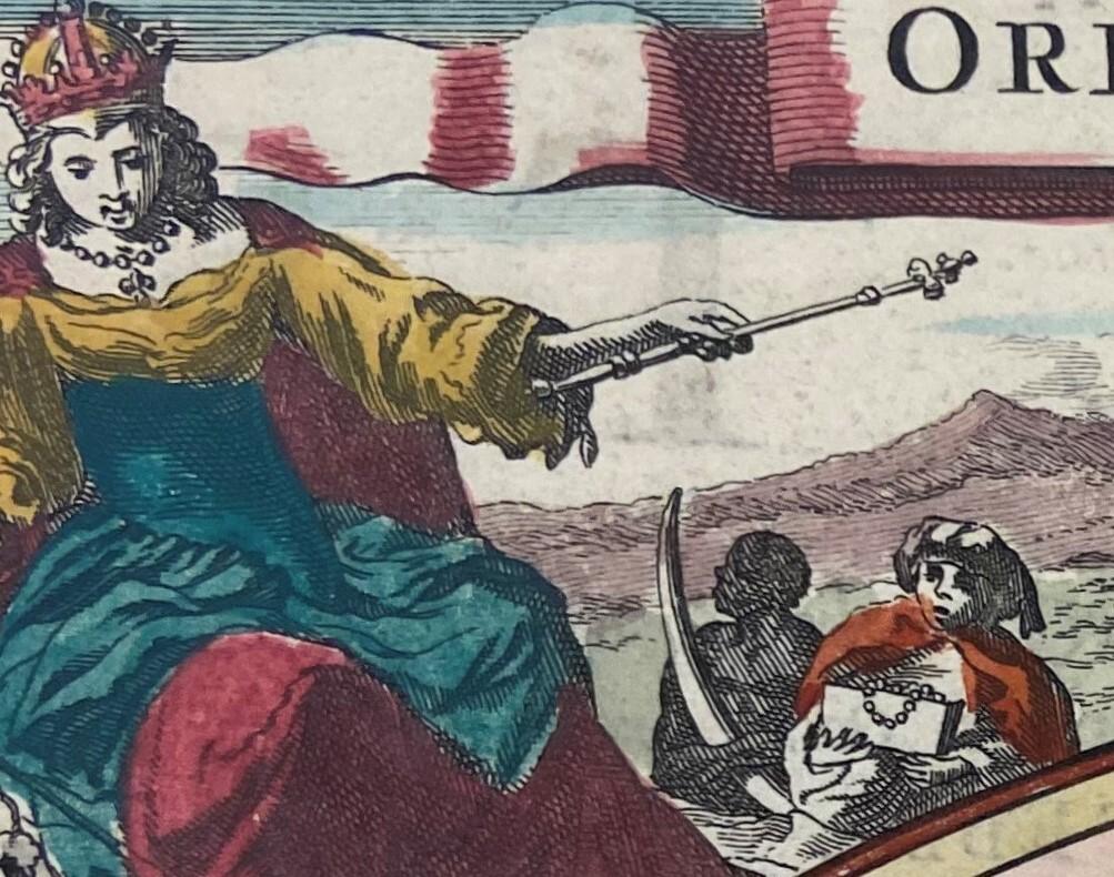 Orbis Terrarum Tabula Recens Emendata Et In Lucem Edita