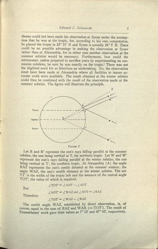 Some ancient solar observations / by Edward G. Schauroth.
