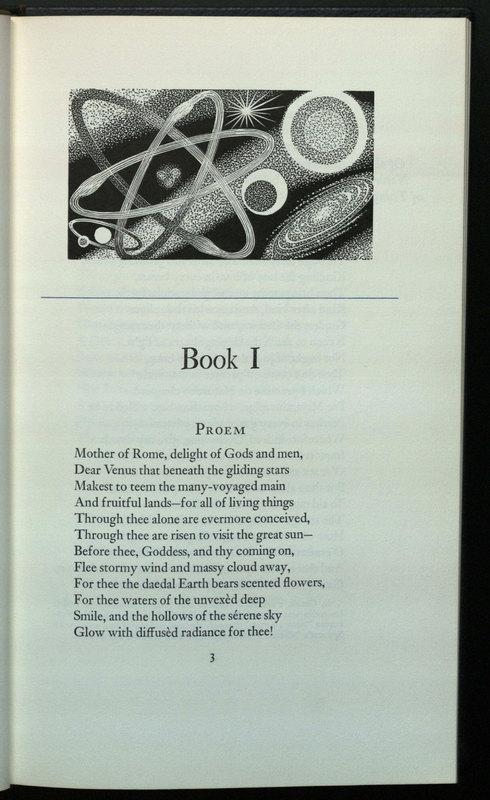 De rerum natura. English