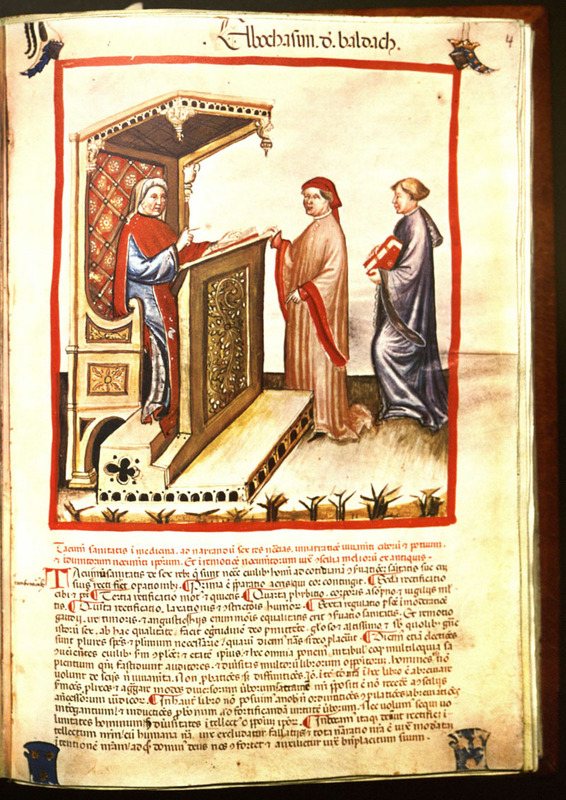 Tacuinum sanitatis in medicina : codex vindobonensis series nova 2644 of the Austrian National Library.