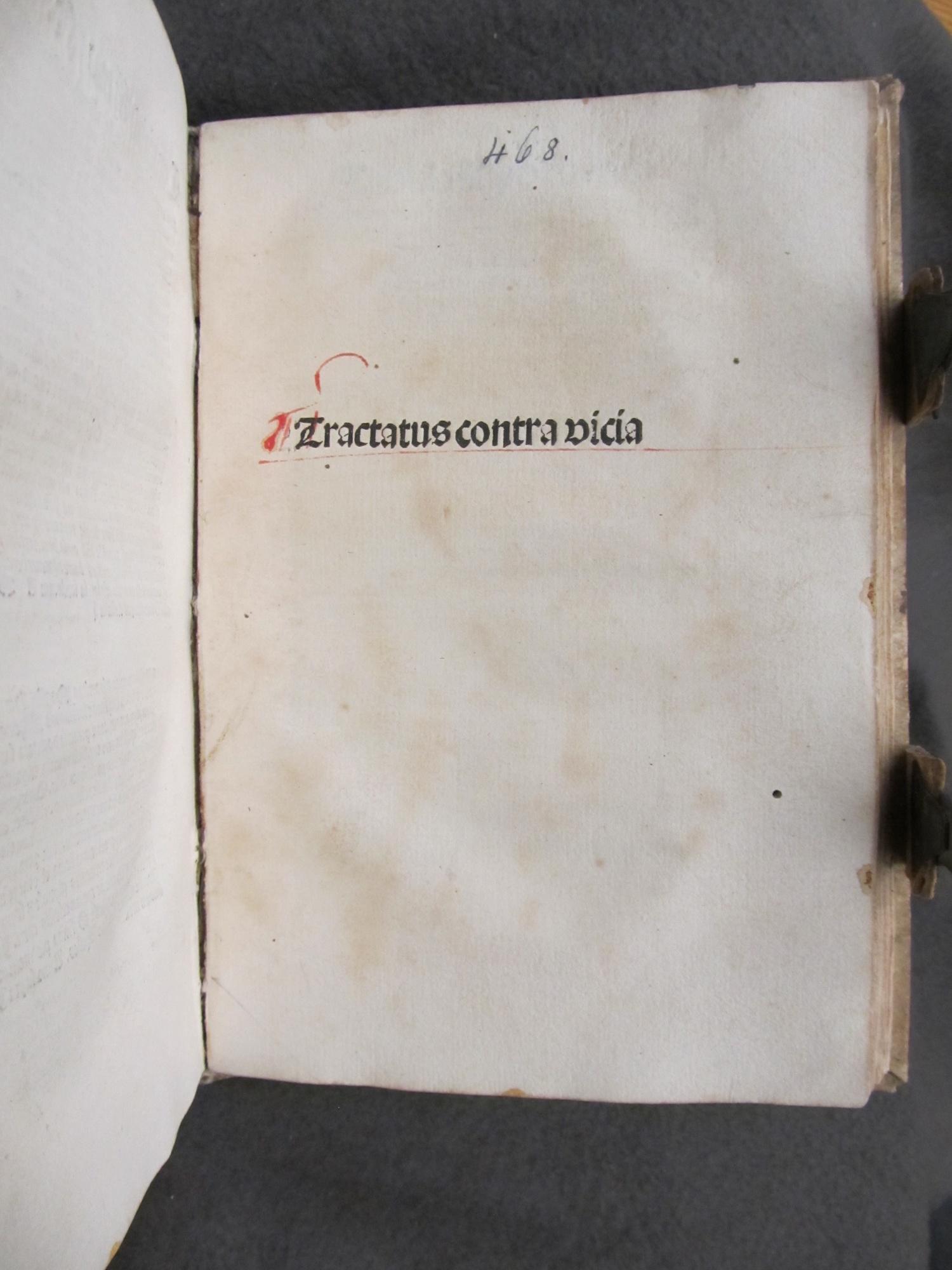 Tractatus contra vicia.