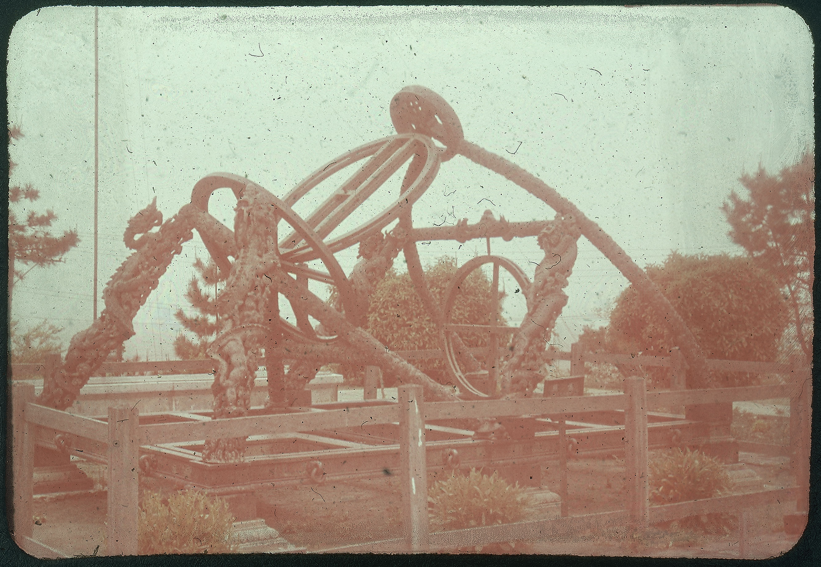 Hiller 09-072: Ancient Chinese astronomical instrument in Nanking