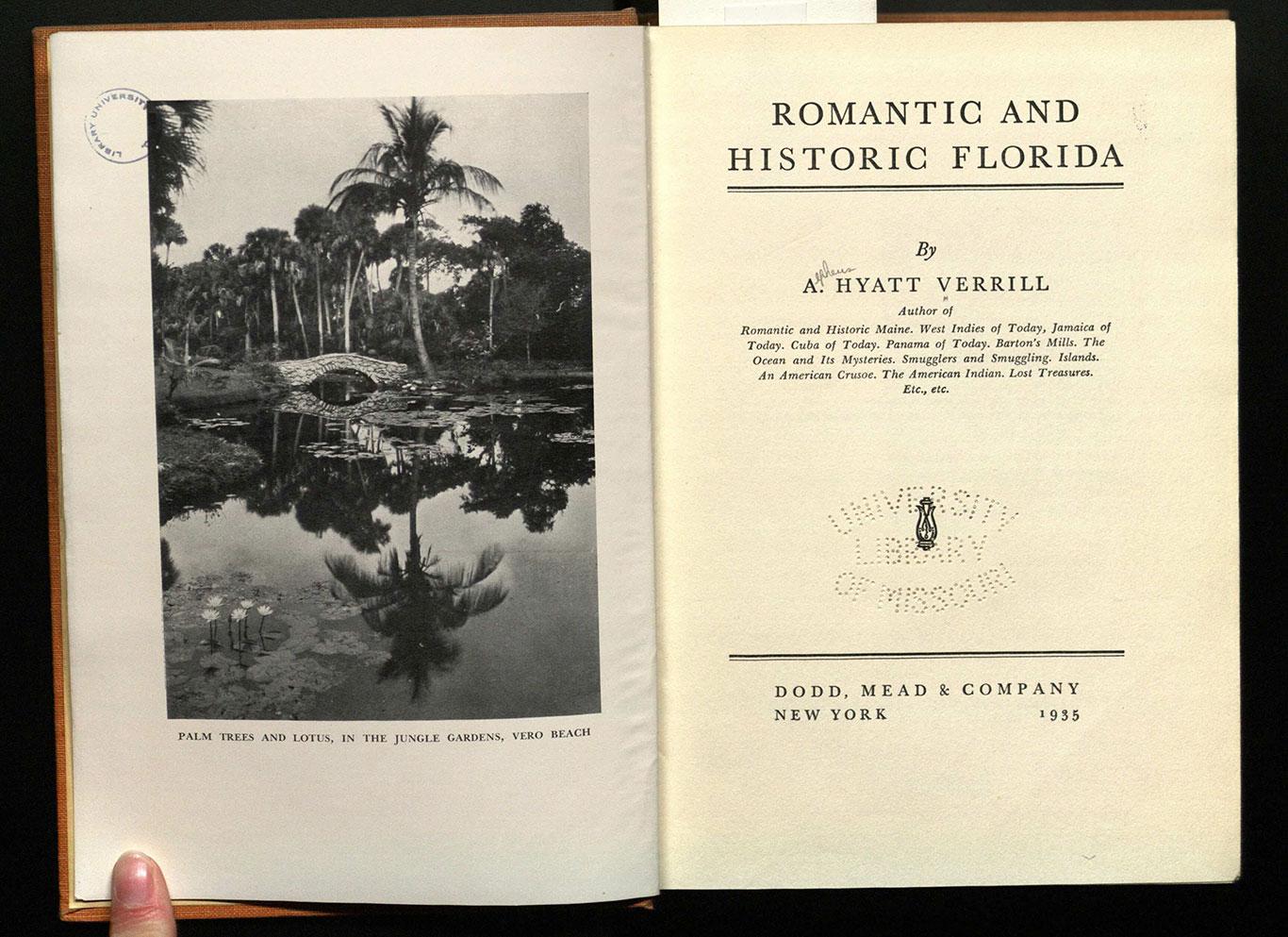 Romantic and historic Florida.