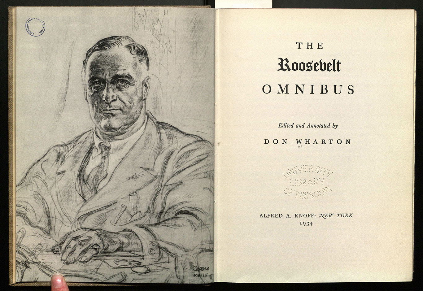 The Roosevelt omnibus / edited and annotated by Don Wharton.