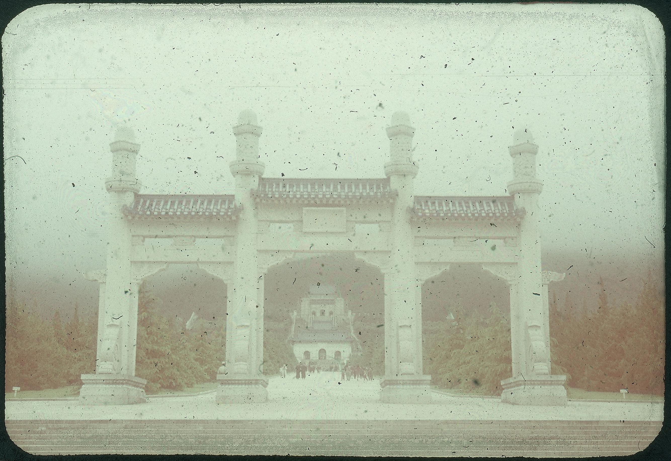 Hiller 09-036: Sun Yatsen Mausoleum in Nanking 2