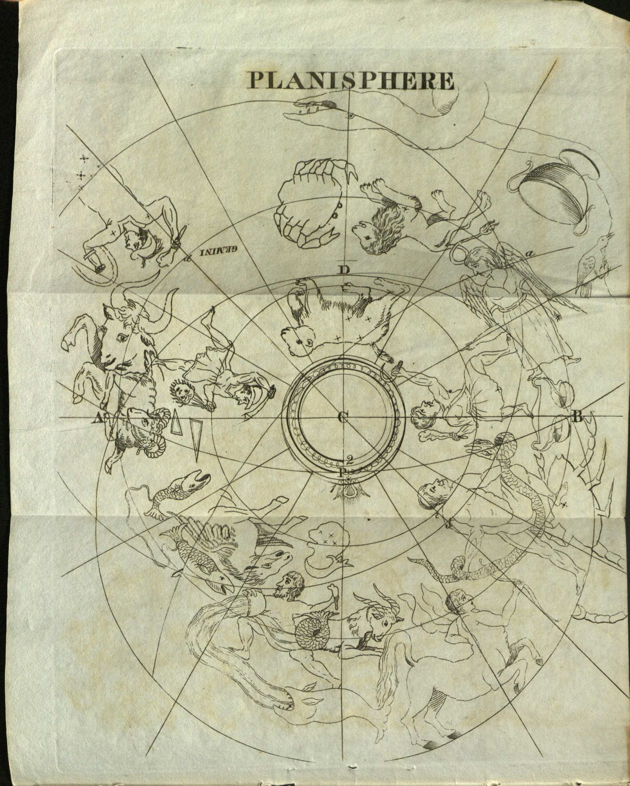 The original design of the ancient zodiacal and extra-zodiacal constellations, arranged on the present globes, which by their attitudes and positions prove the place of the summer solstice to have been in the middle of the goat, and the autumnal equinox in the ram : to which is added an account of the battle between Vicramaditya and Salavahana which arose from a combination of the precession and nutation of the earth's axis : also, further remarks on the long zodiac of Tantyra [sic].