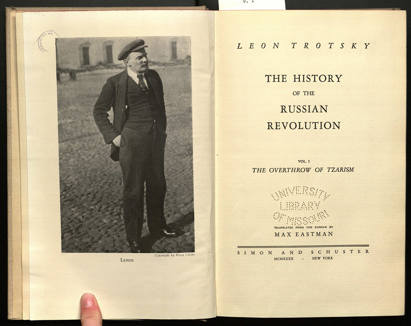 The history of the Russian revolution ... / translated from the Russian by Max Eastman.