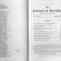The journal of heredity.<br />