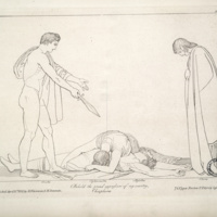 Compositions from the tragedies of Æschylus / designed by John Flaxman ; engraved by Thomas Piroli and Frank Howard.