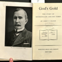 God's gold : the story of Rockefeller and his times